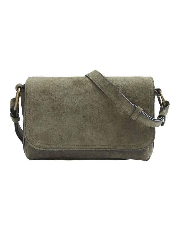 Sueded Cross Body Bag image 1