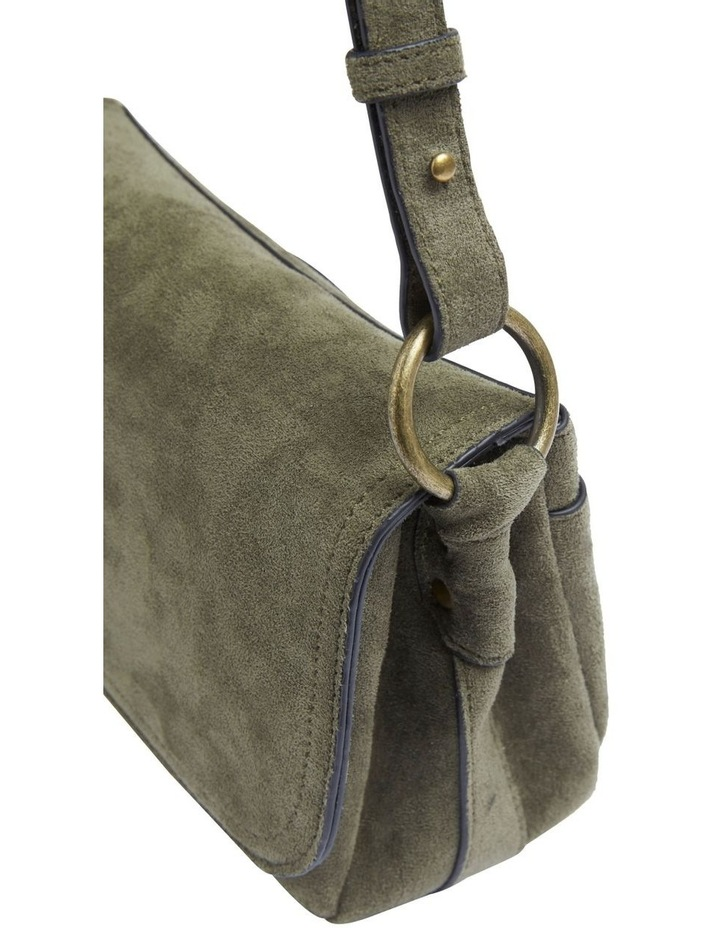 Sueded Cross Body Bag image 3