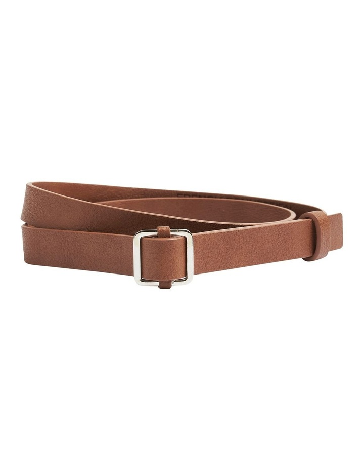 Skinny Square Buckle Belt image 1