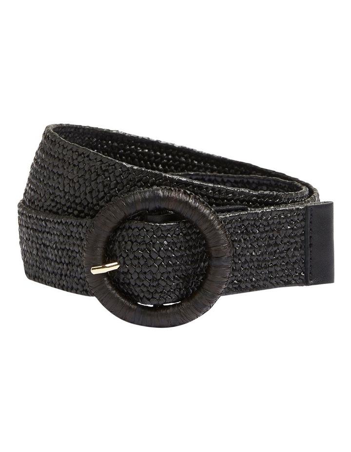 Summer Straw Waist Belt image 1