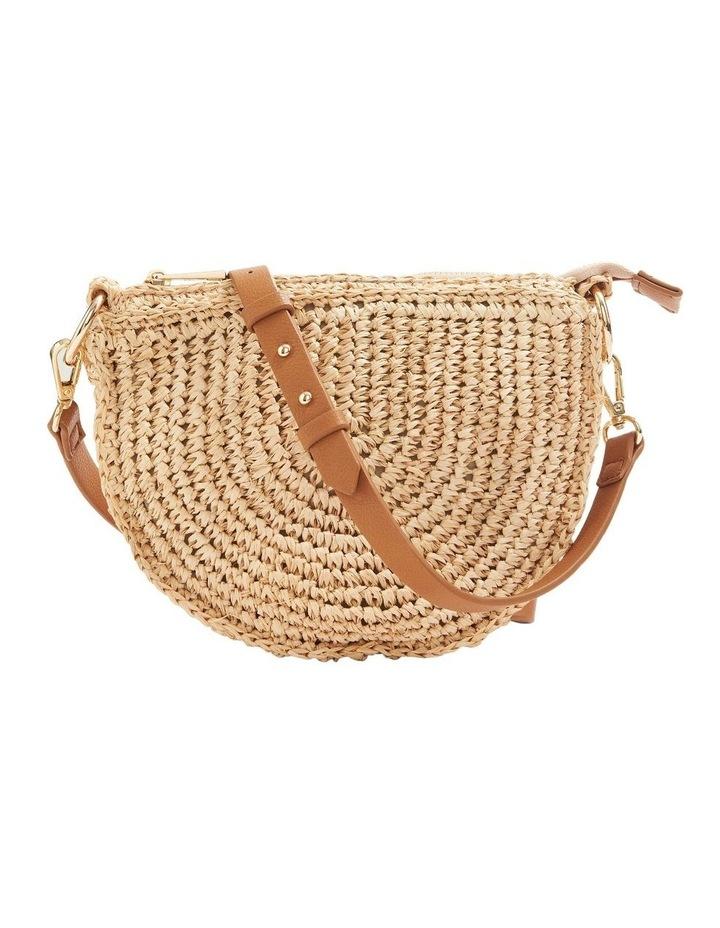 Summer Straw Cross Body Bag image 1