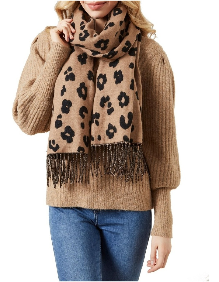 Two Tone Animal Scarf image 2