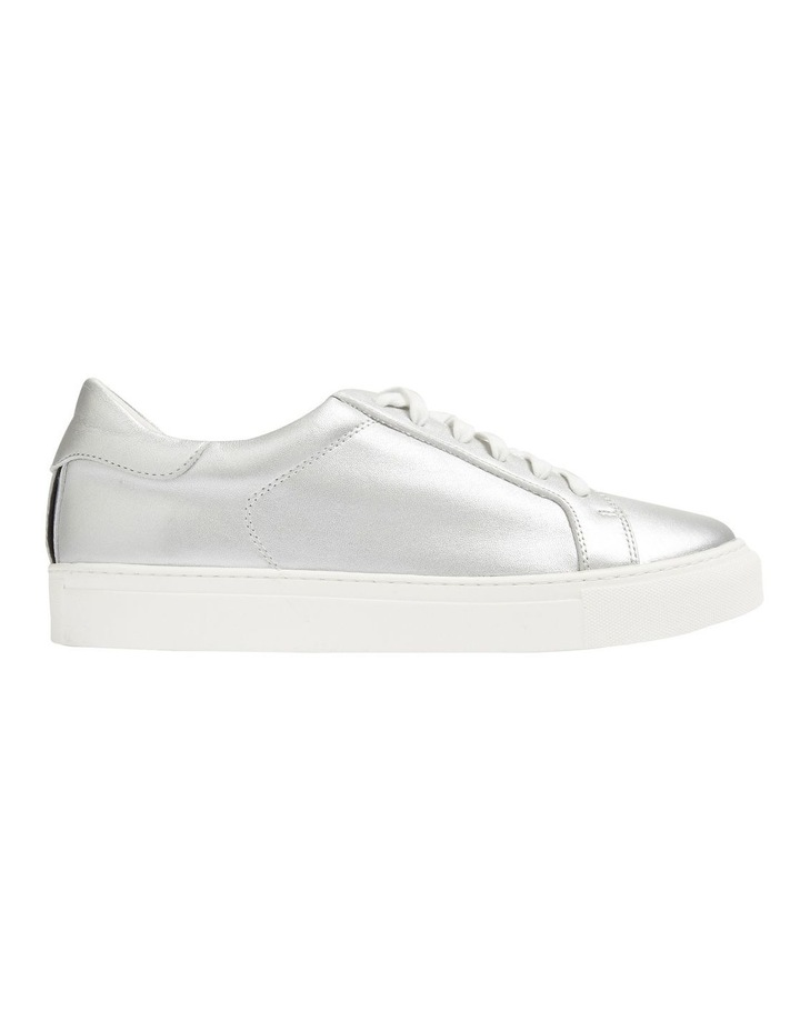 Silver Leather Sneaker image 1