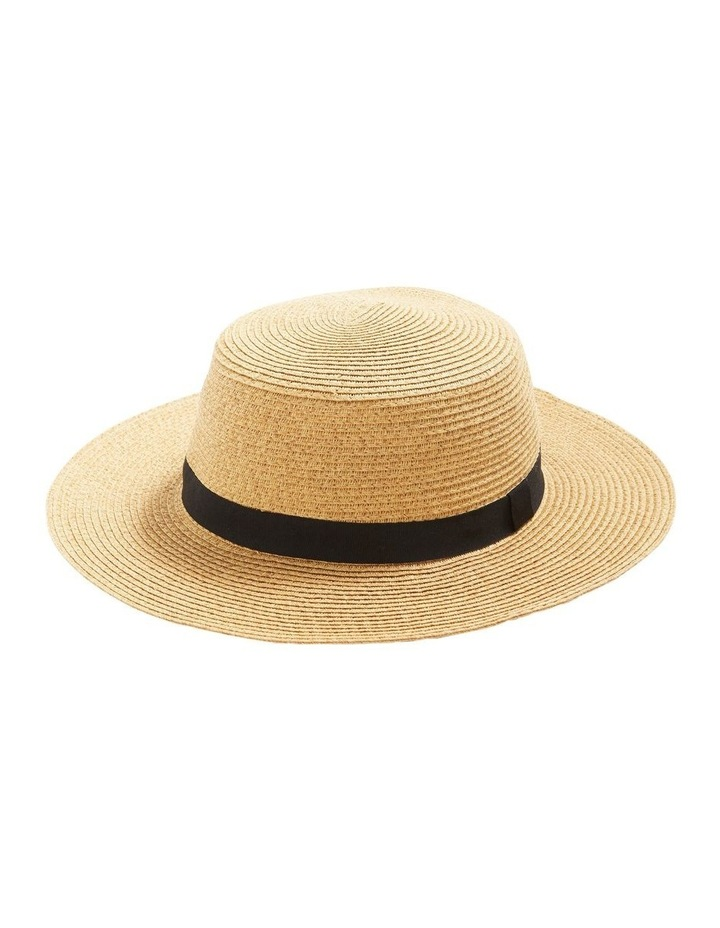 Large Summer Straw Hat image 1