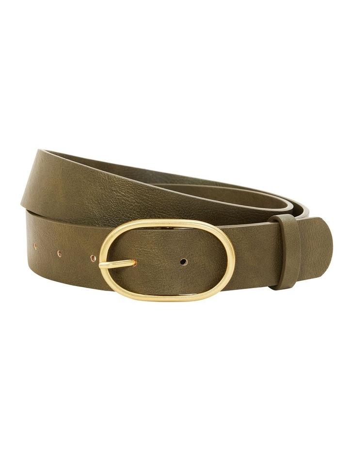 Oval Buckle Belt image 1