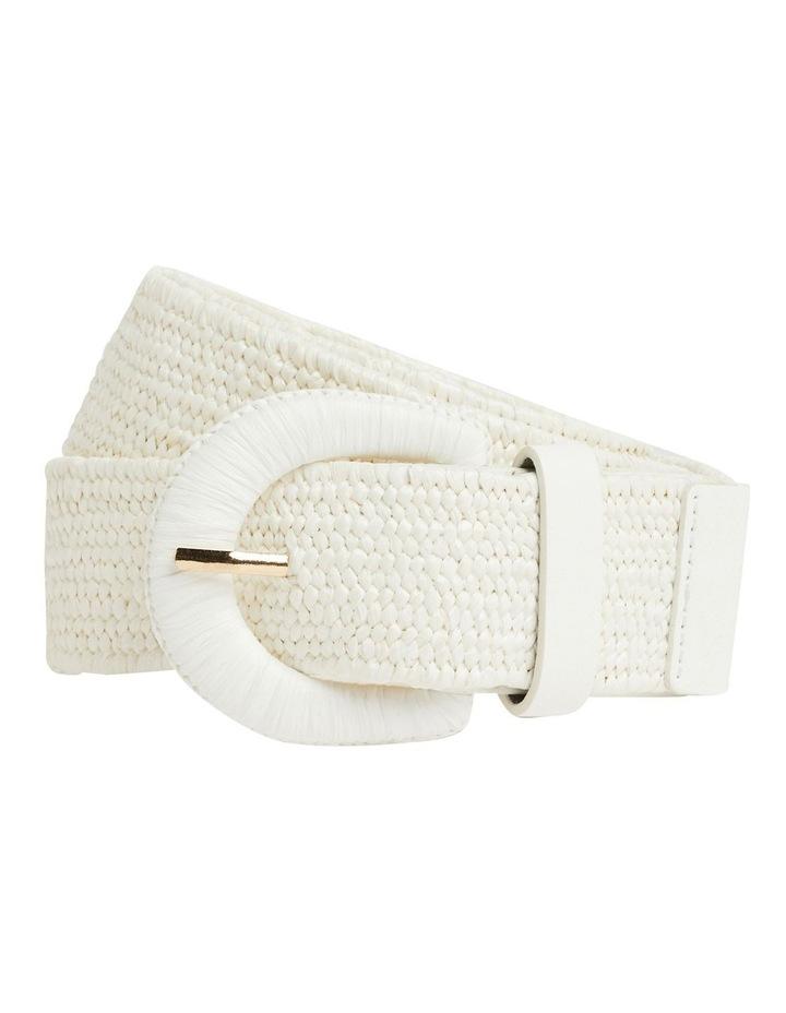 Elasticated Straw Belt image 1