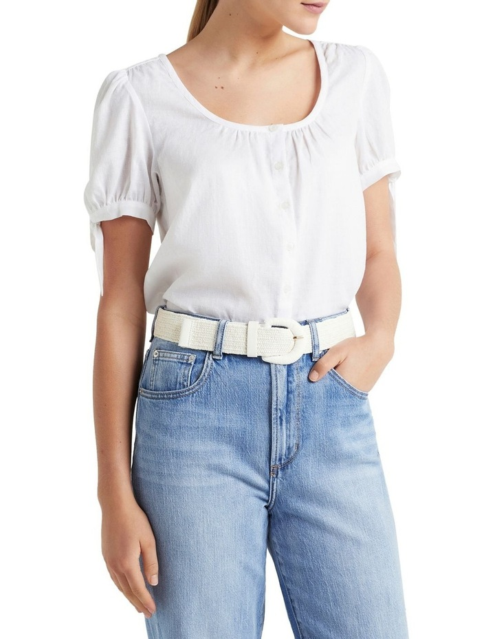 Elasticated Straw Belt image 2