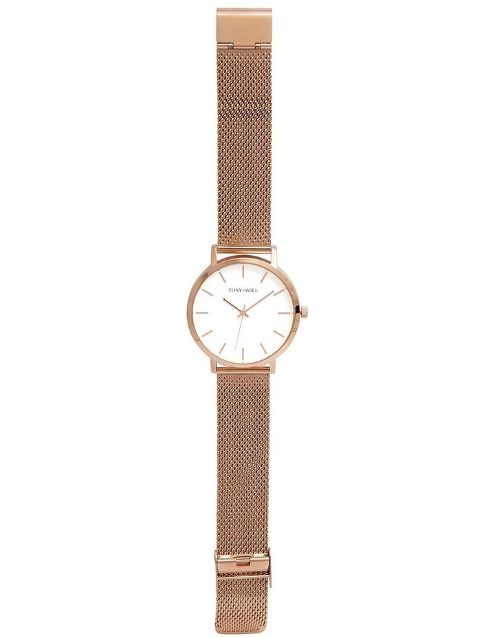 Classic Mesh Rose Gold TWM000D Watch image 2
