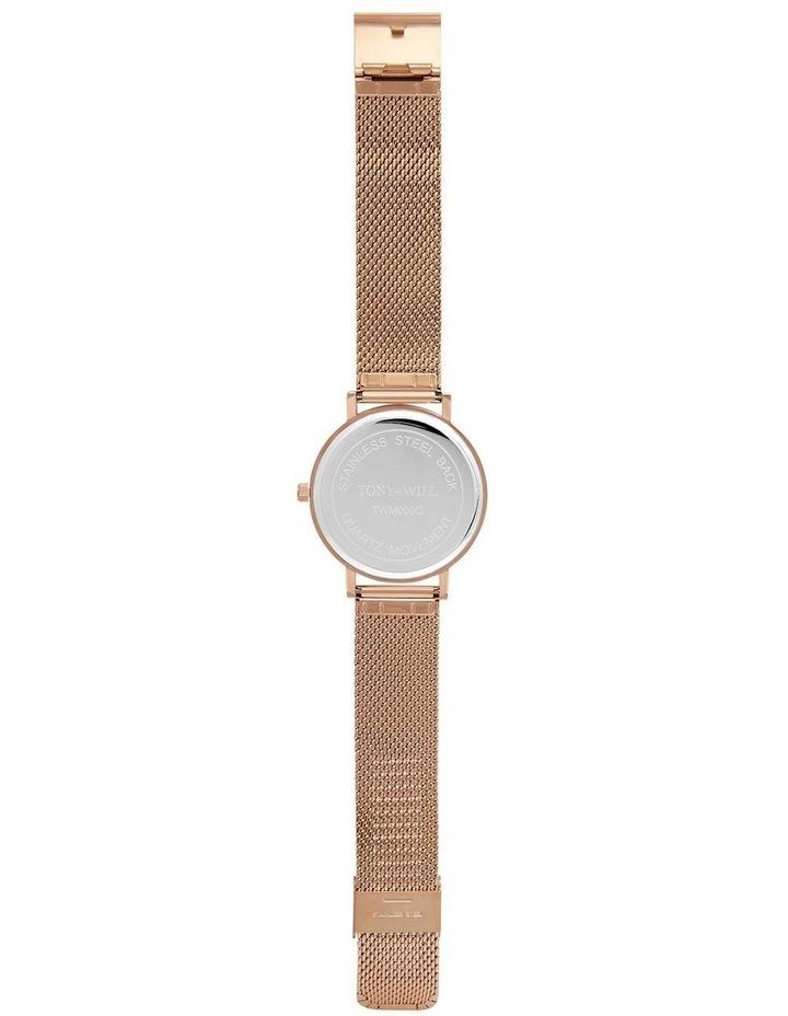 Classic Mesh Rose Gold TWM000D Watch image 3