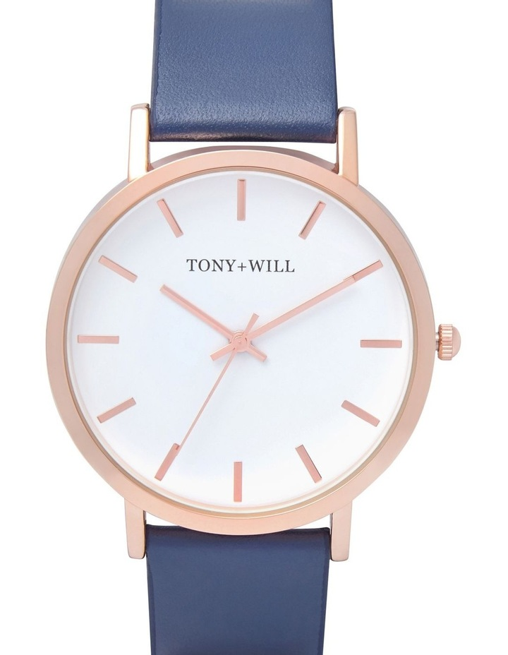 Classic Leather Navy TWT000E Watch image 1