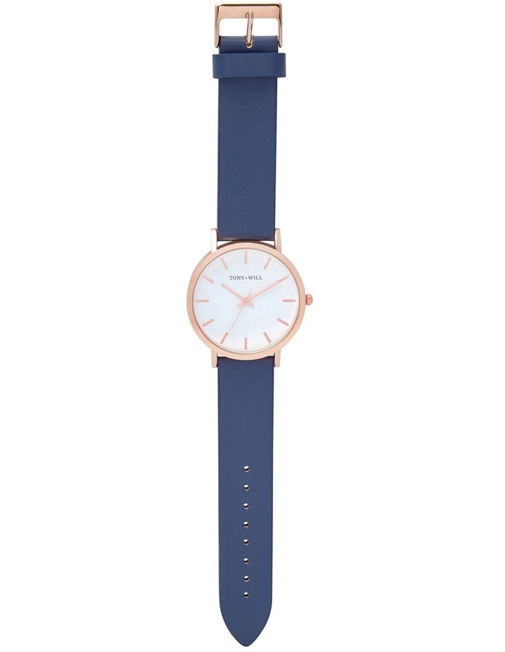 Classic Leather Navy TWT000E Watch image 2