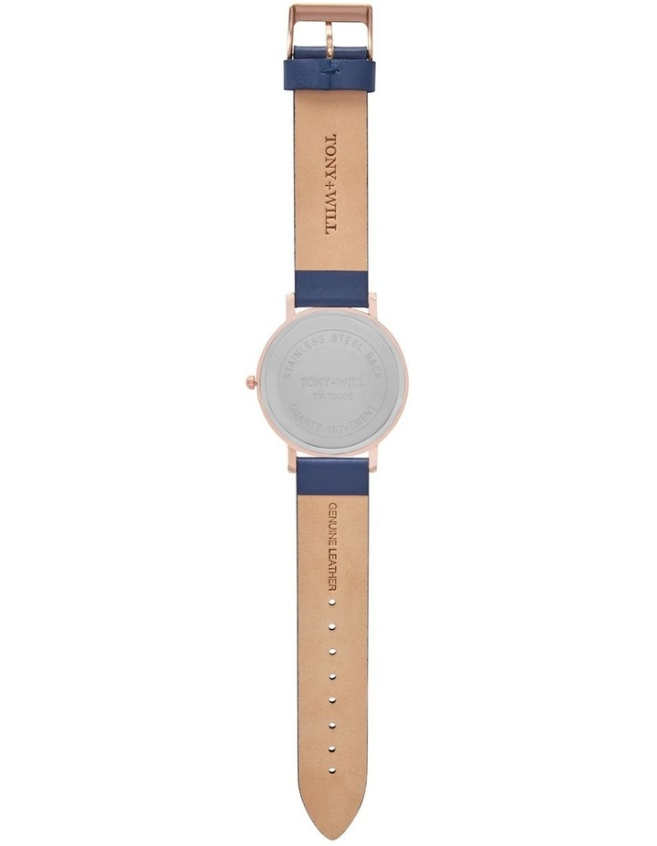 Classic Leather Navy TWT000E Watch image 3