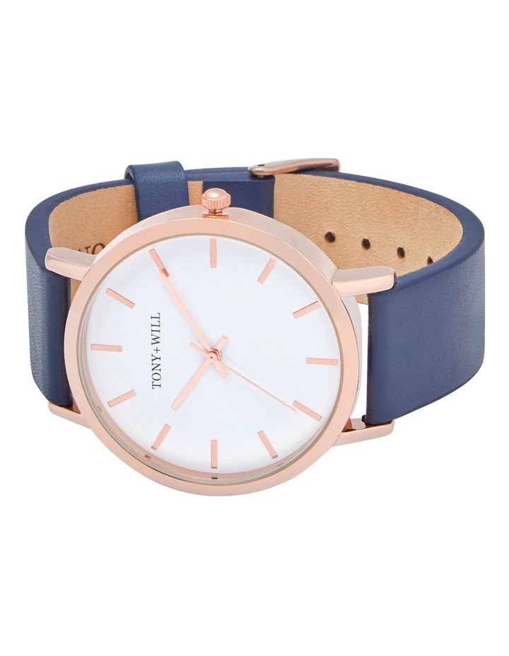 Classic Leather Navy TWT000E Watch image 4