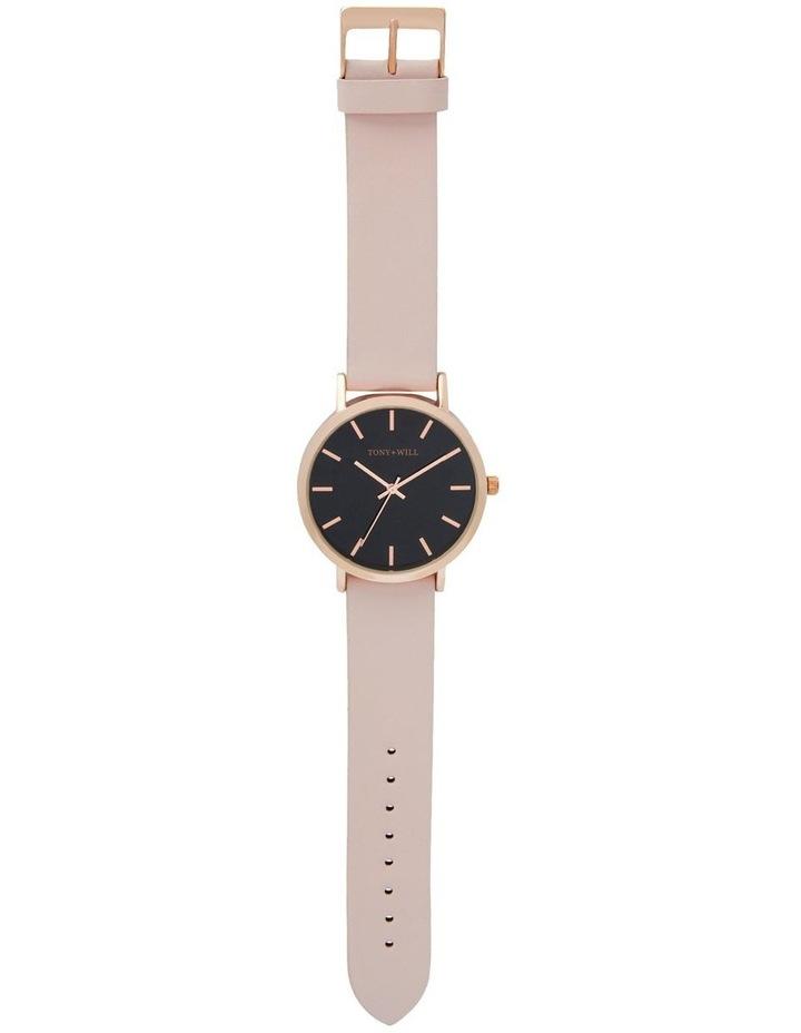 Classic Light Pink Leather Quartz Watch TWT000E image 2