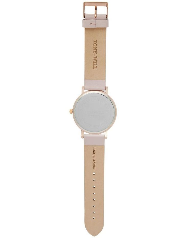 Classic Light Pink Leather Quartz Watch TWT000E image 3