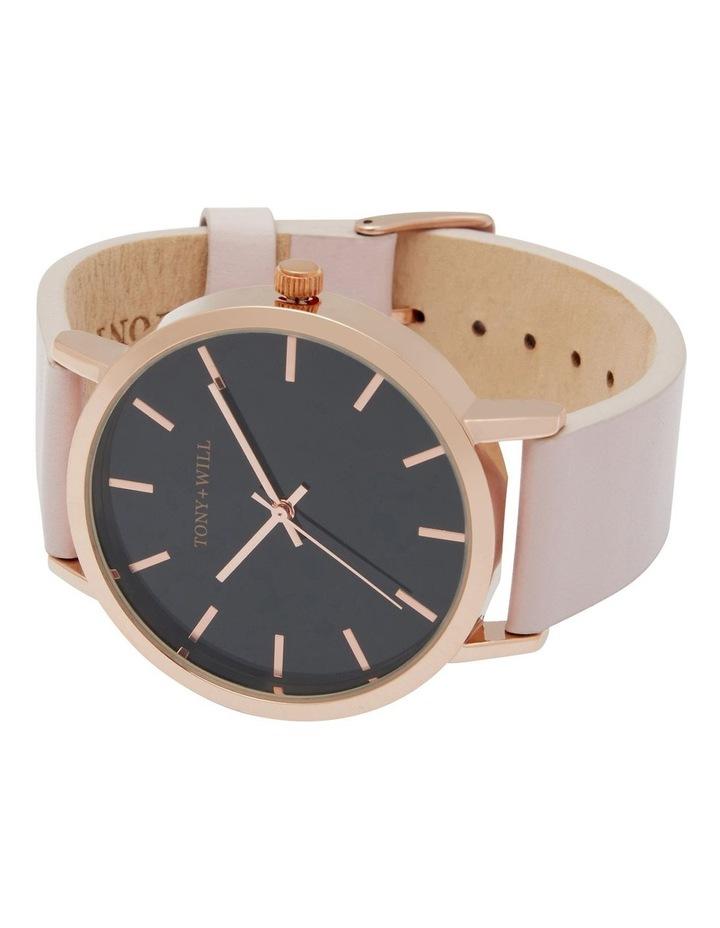 Classic Light Pink Leather Quartz Watch TWT000E image 4