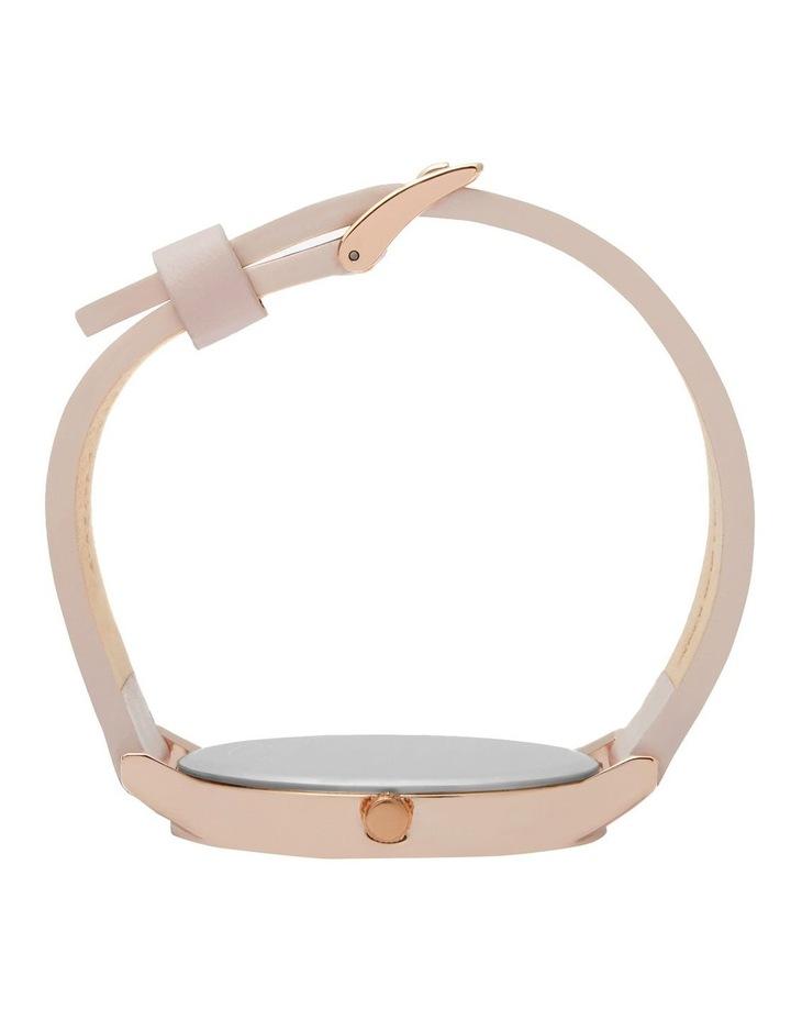Classic Light Pink Leather Quartz Watch TWT000E image 5