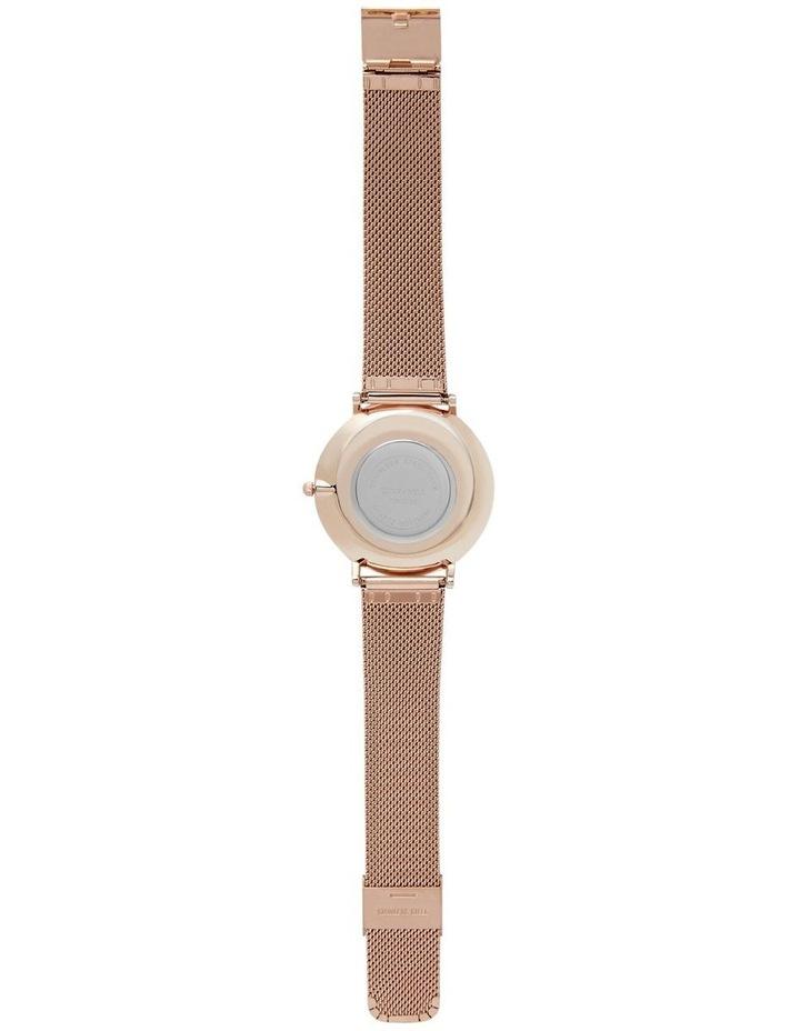 Lunar Mesh White Rose Stainless Steel Quartz Watch TWM005E image 3