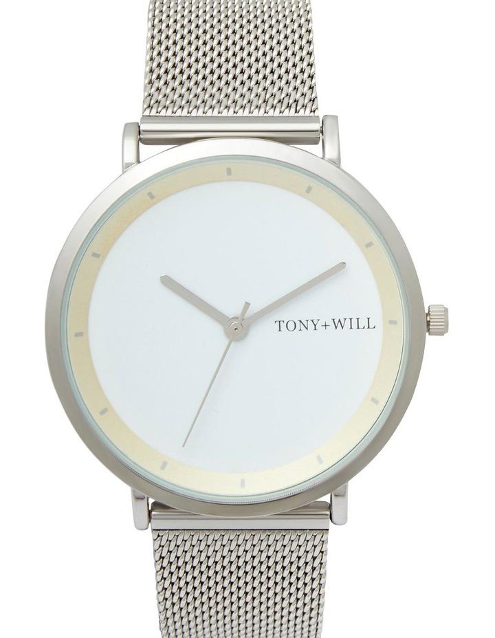 Lunar Mesh Silver/White TWM005E Watch image 1