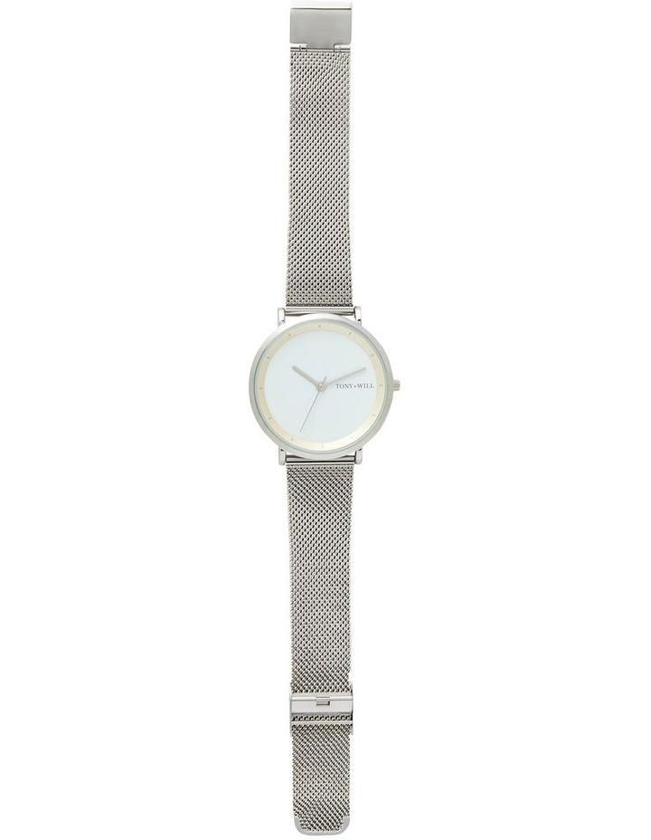 Lunar Mesh Silver/White TWM005E Watch image 2