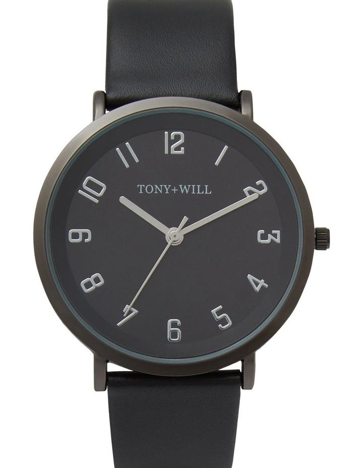 Astral Black Leather Quartz Watch TWT008E image 1