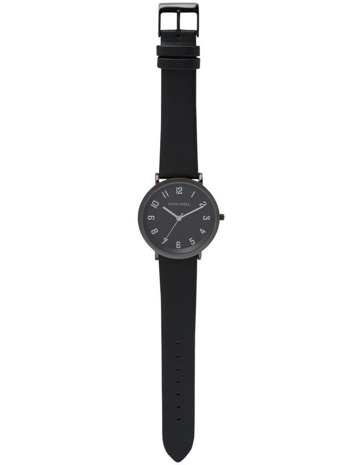 Astral Black Leather Quartz Watch TWT008E image 2