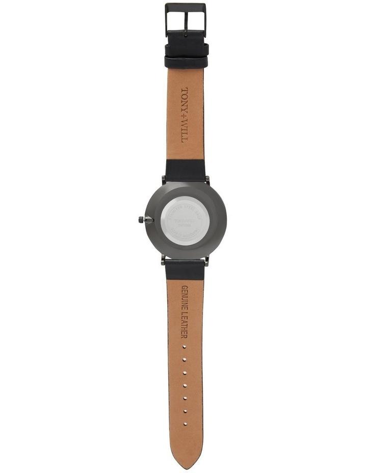 Astral Black Leather Quartz Watch TWT008E image 3