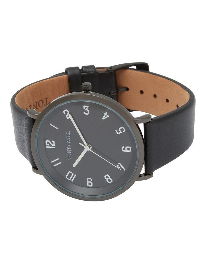 Astral Black Leather Quartz Watch TWT008E image 4