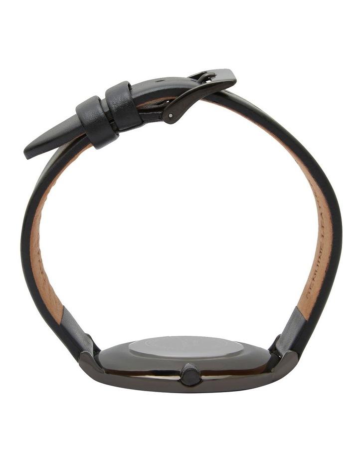 Astral Black Leather Quartz Watch TWT008E image 5
