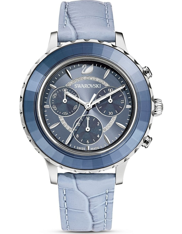 Octea Lux Blue Leather Chronograph Watch image 1