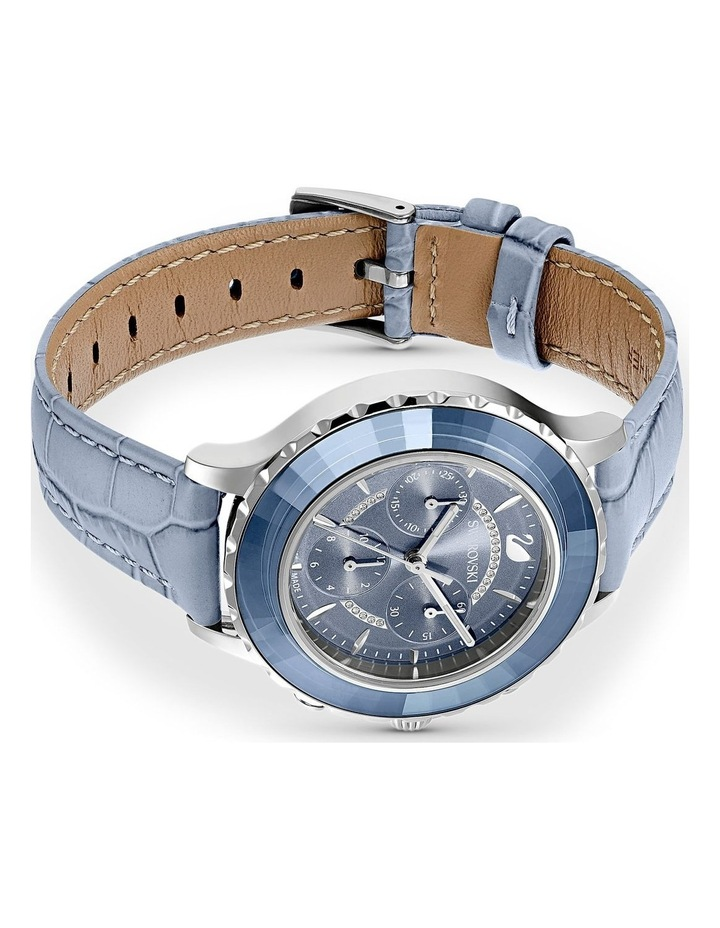 Octea Lux Blue Leather Chronograph Watch image 3