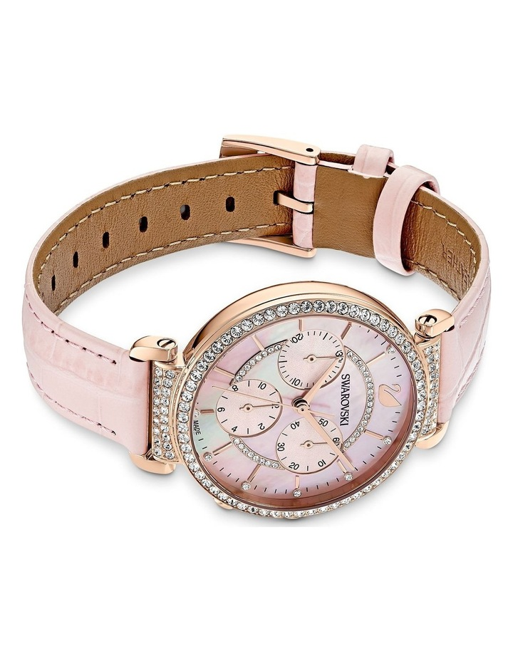 Passage Pink Leather Chronograph Watch image 3