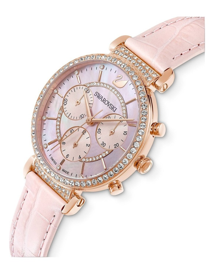 Passage Pink Leather Chronograph Watch image 4