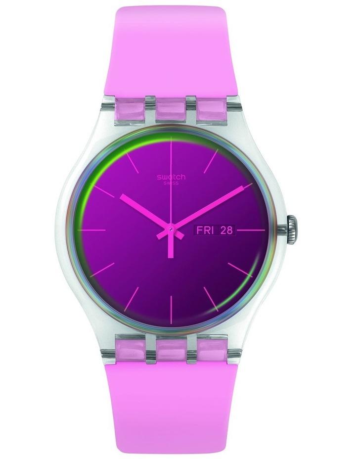 Polarose Pink SIlicone Quartz Watch image 1