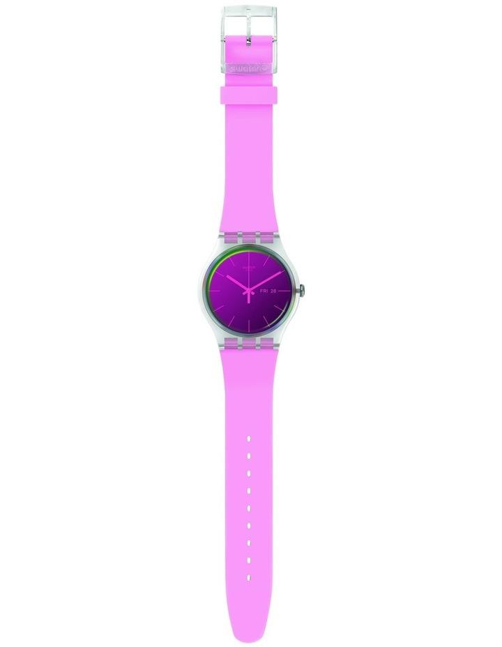 Polarose Pink SIlicone Quartz Watch image 2