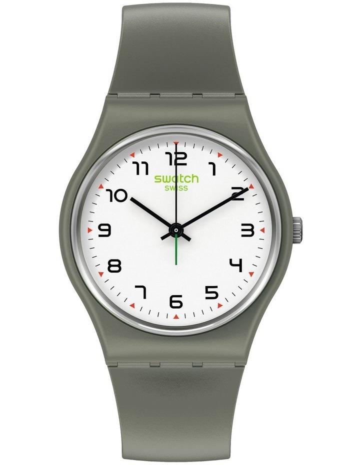 Isikhathi Green Bio-Sourced Plastic Quartz Watch image 1