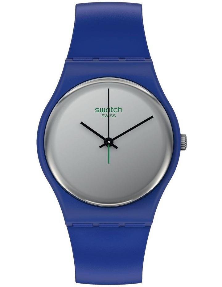 Silverwakati Royal Blue Bio-Sourced Plastic Quartz Watch image 1