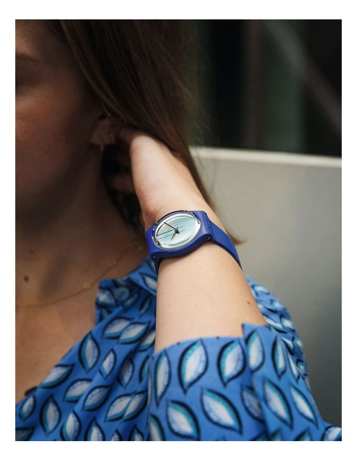Silverwakati Royal Blue Bio-Sourced Plastic Quartz Watch image 3