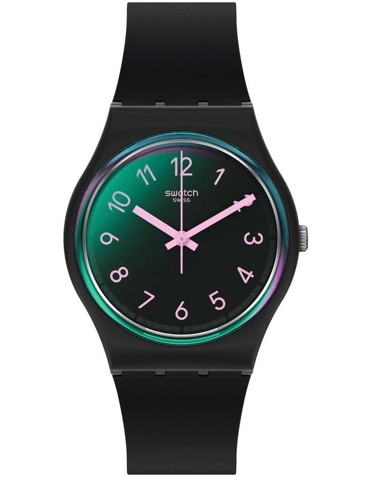 La Night Black Plastic Quartz Watch image 1