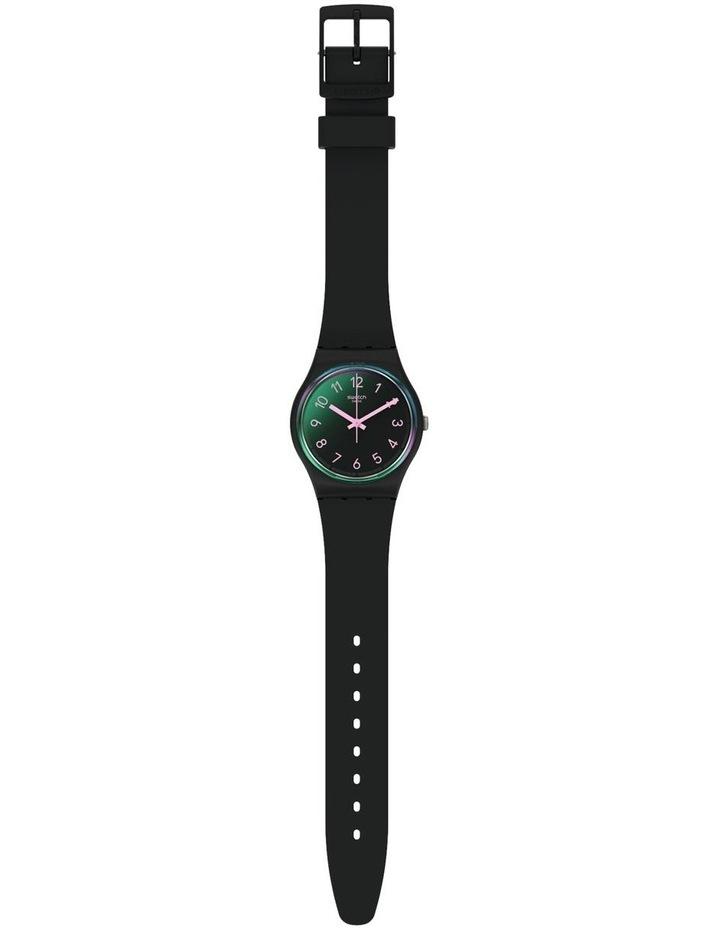 La Night Black Plastic Quartz Watch image 2