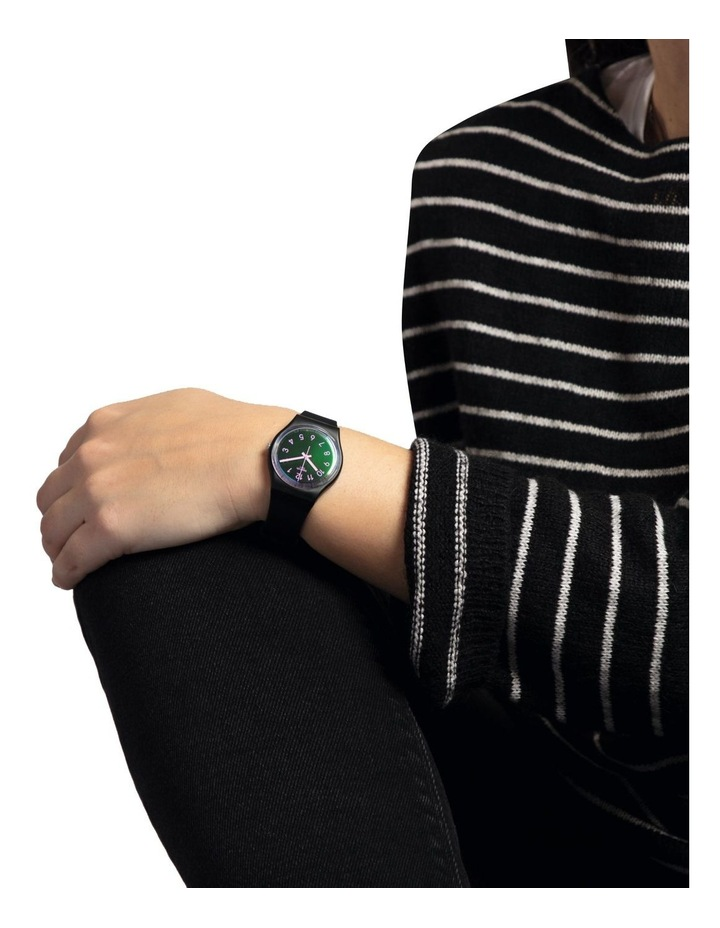 La Night Black Plastic Quartz Watch image 3