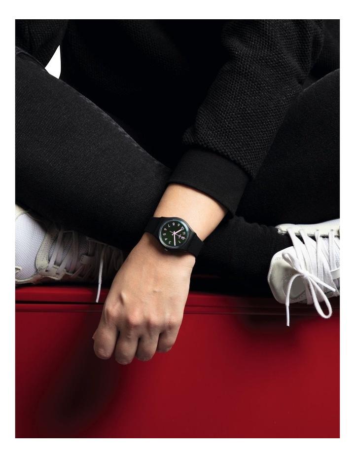 La Night Black Plastic Quartz Watch image 4