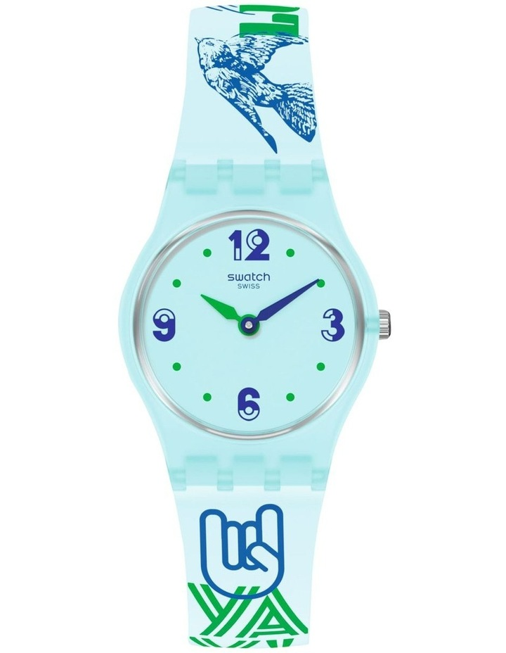 #Greentouche Blue Quartz Watch image 1