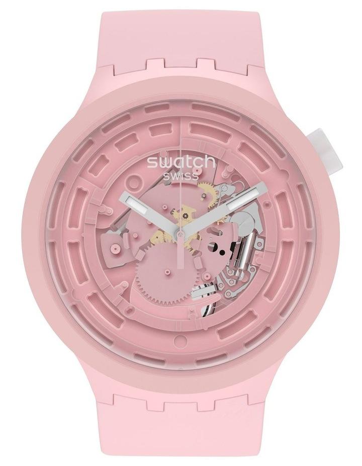 C-Pink Bioceramic Quartz Watch image 1