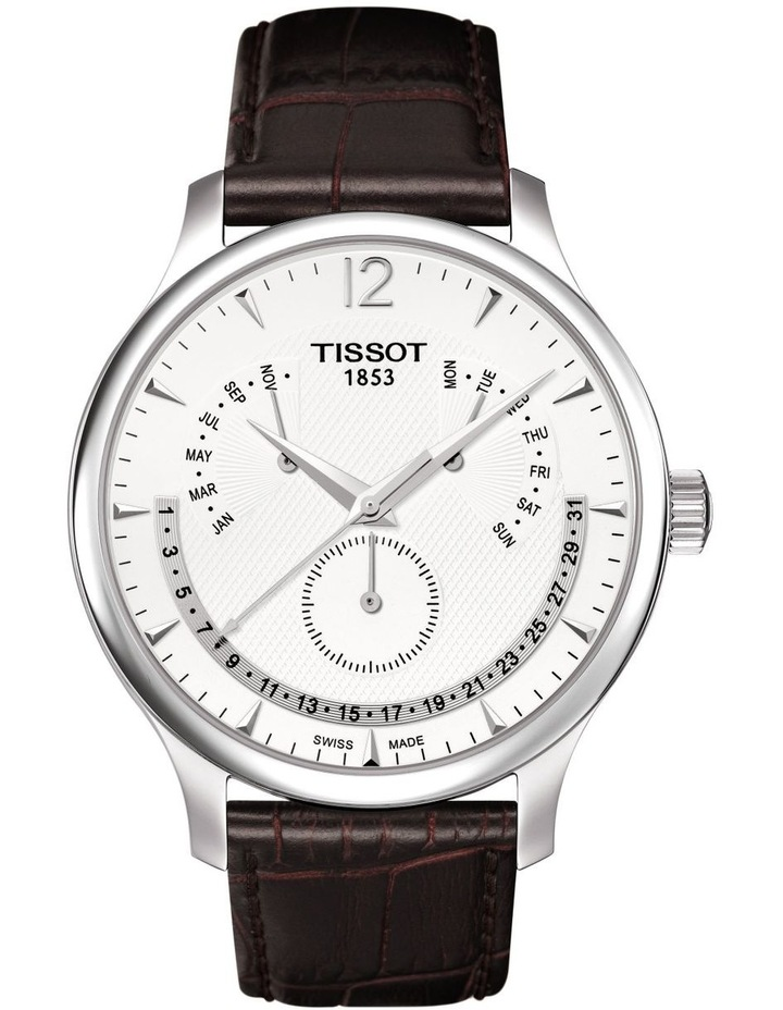 Tradition Perpetual Calendar Watch T063.637.16.037.00 image 1