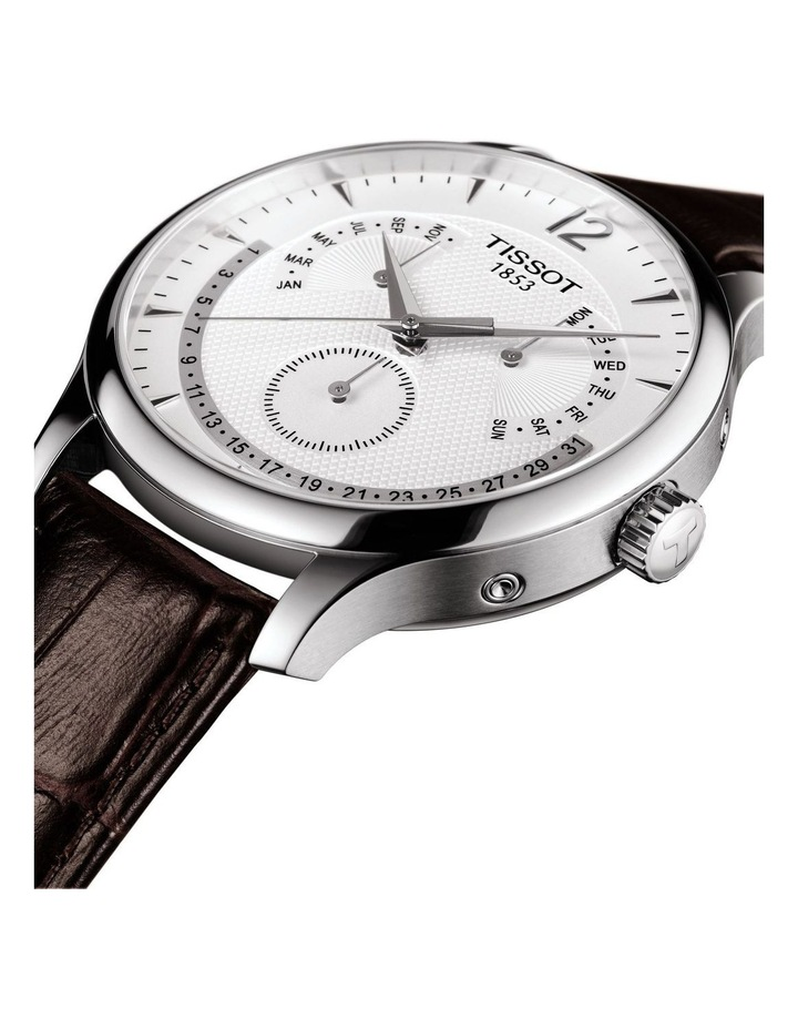 Tradition Perpetual Calendar Watch T063.637.16.037.00 image 2