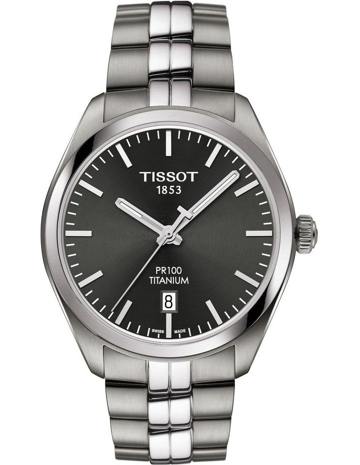 PR 100 Titanium Quartz Watch T101.410.44.061.00 image 1
