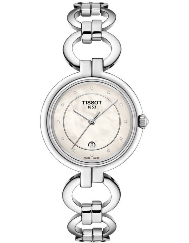 Flamingo Silver Stainless Steel Quartz Watch T094.210.11.116.00 image 1