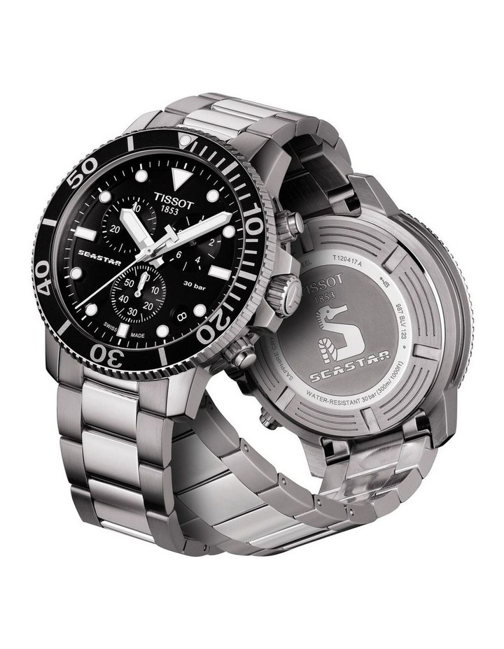 Seastar 1000 Chronograph Watch T120.417.11.051.00 image 2