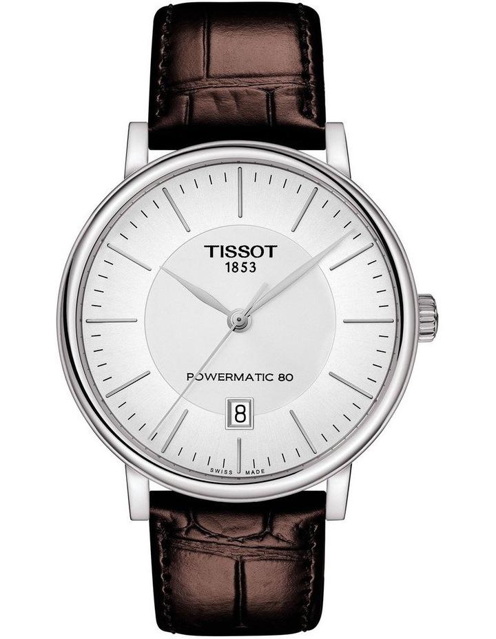 Carson Premium Powermatic 80 Watch T122.407.16.031.00 image 1